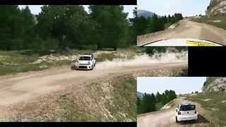 WRC 3 - Santa Marina - Volkswagen Polo R WRC test car