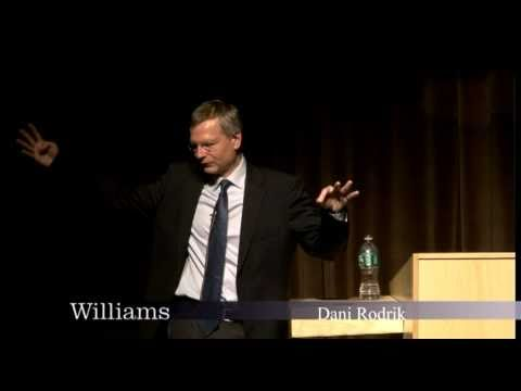 Dani Rodrik: Williams College Center for Development Economics 10.14.10