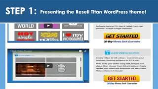 Resell Titan WordPress Theme