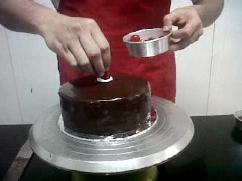 Dekorasi Cake American Chocolate kueulangtahuncom YouTube