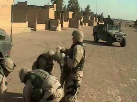 US Marines Fight Insurgents Fallujah