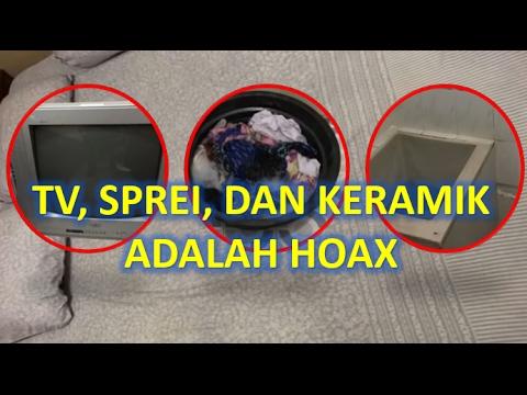 HOT!!!  BARANG BUKTI TV,  SPREI, dan  KERAMIK FIRZA HUSEIN HOAX