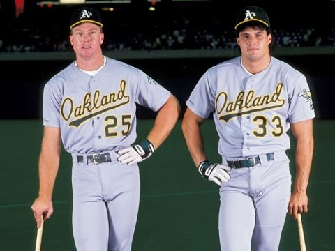 Oakland A's Bash Brothers