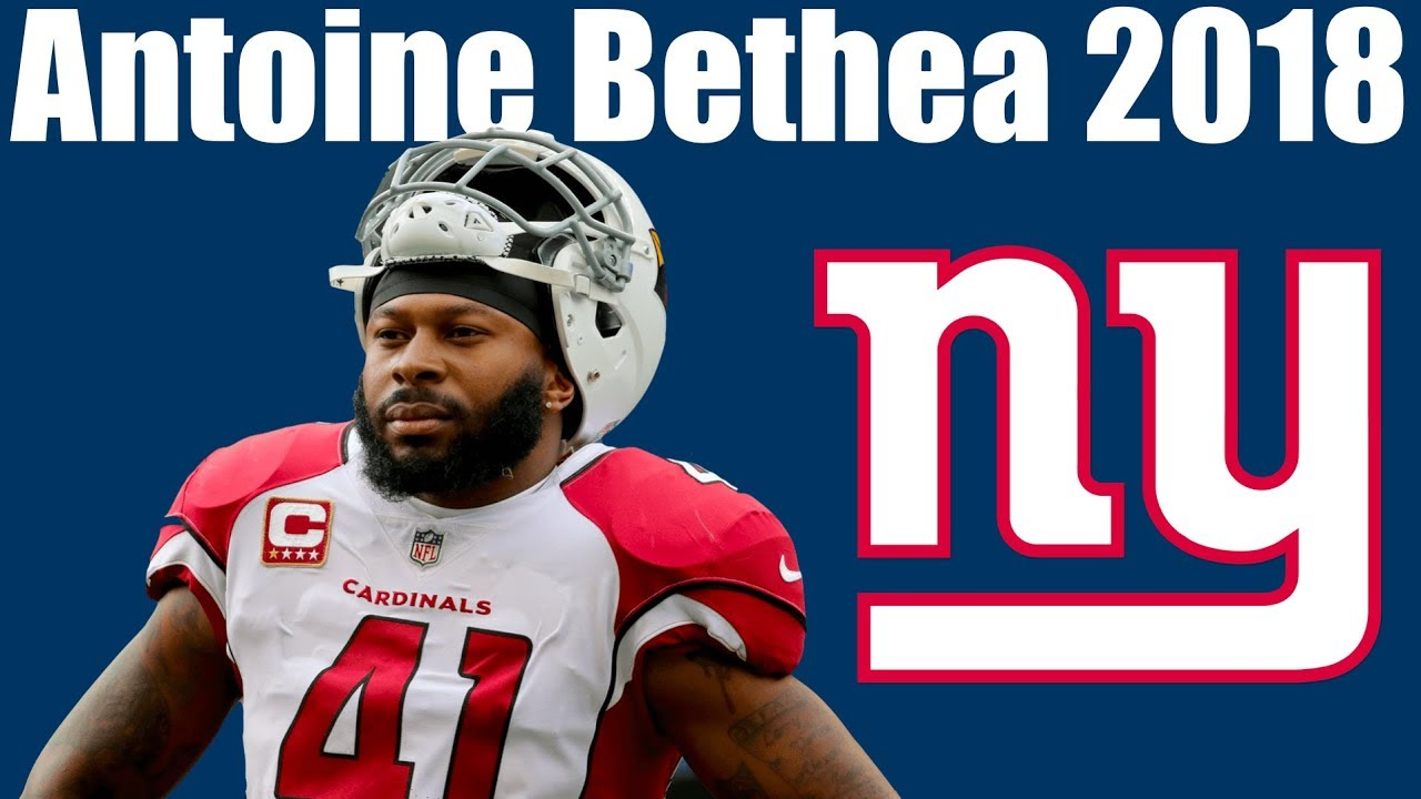 low cost d29fd f8e34 Antoine Bethea Giants S 2018 Highlights