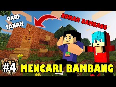MISI MENCARI BAMBANG O'ON | MINECRAFT SURVIVAL INDONESIA #4