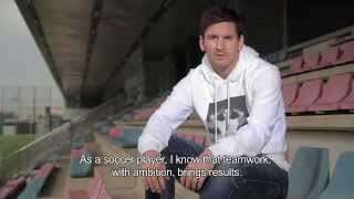 Leo Messi: Connect to Fight Chagas - English
