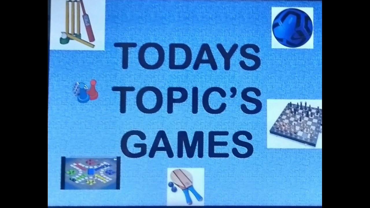 English -. Games - YouTube