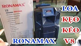 loa kẹo kéo giá rẻ ronamax v8