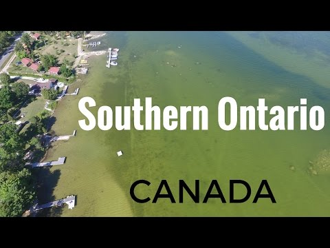 Beautiful Southern Ontario Aerial Drone Video Tour - 4K
