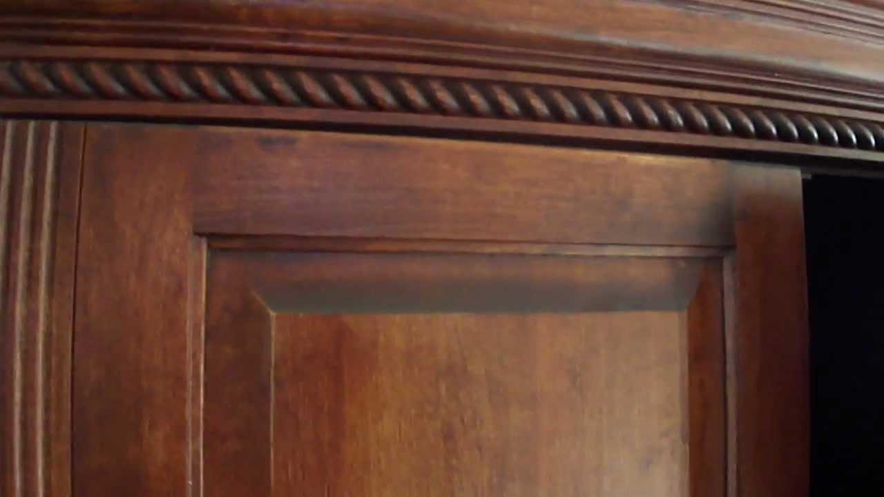 Shopmfp.ca Solid Wood Wardrobe / Tv Armoire