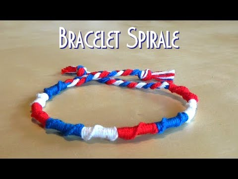 [TUTO] VERY EASY round / spiral bracelet for beginners