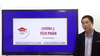 Toán cao cấp - Chương 3: Tích phân - www.giangduongdaihoc.com