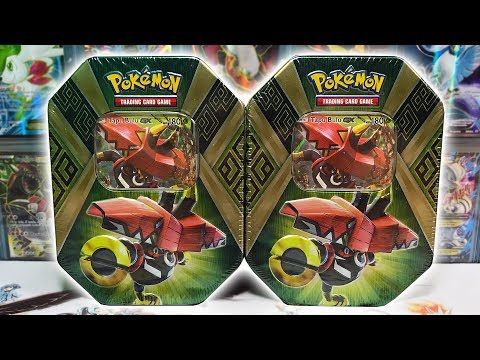 FULL ART PULL! OPENING 2 TAPU BULU ISLAND GUARDIANS POKEMON TINS!!