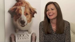 A Dog's Journey || Gail Mancuso Generic Junket Interview || #SocialNews.XYZ