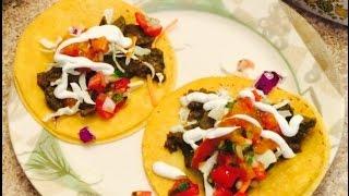 Delicious Steak Taco recipe with Chimichurri Sauce