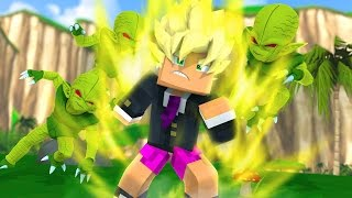 Minecraft - LUTANDO CONTRA OS SAIBAMENS ! - DRAGON BLOCK C SUPER ‹ LOKI ›