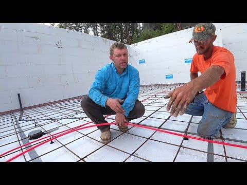 PLAYING GIANT HOPSCOTCH (Rebar Tying in Concrete Slab)