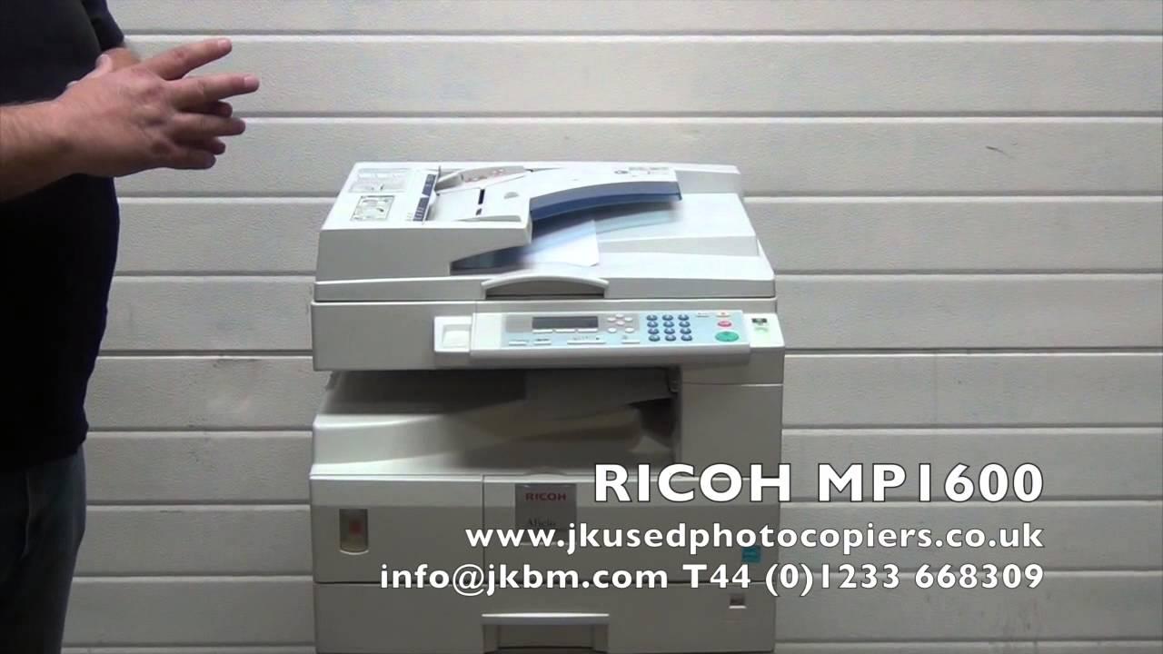 RICOH MP 1600 TREIBER