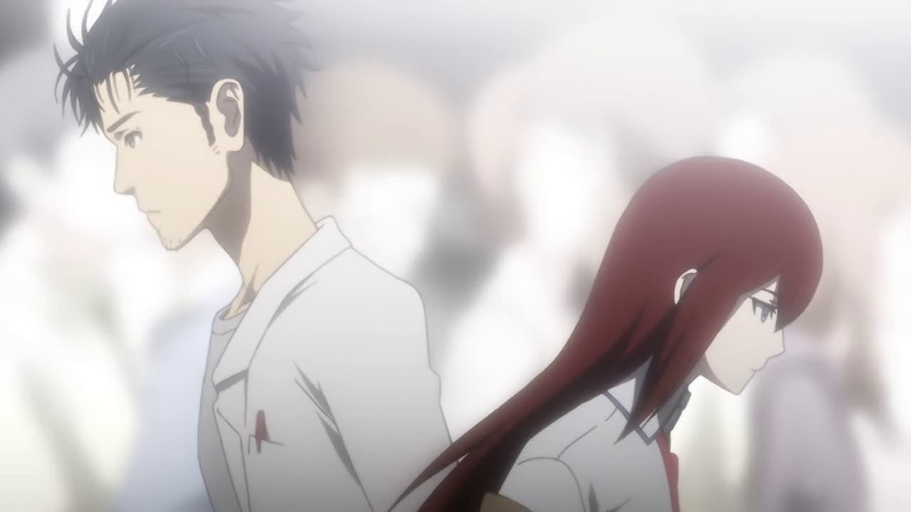 Steins Gate | Okabe Rintarou meets Makise Kurisu 'Cristina' Again | Last  Episode - YouTube