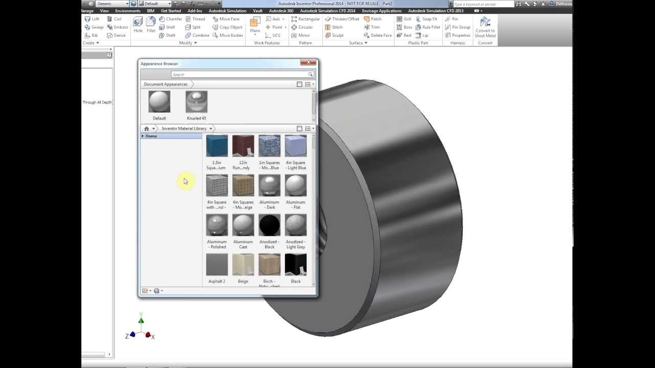 how to add a flange in inventor