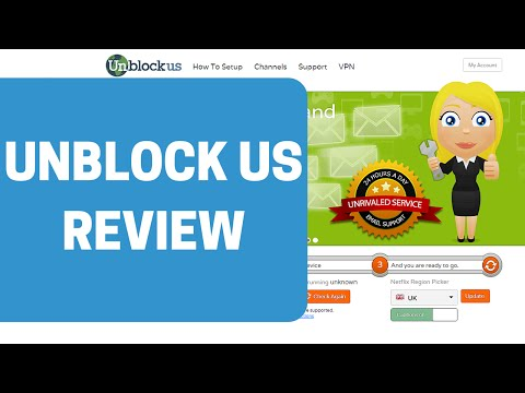 Unblock Us Video Review by SmartDNS.com