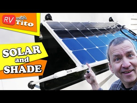 (Update) Build a SOLAR PANEL Window Awning