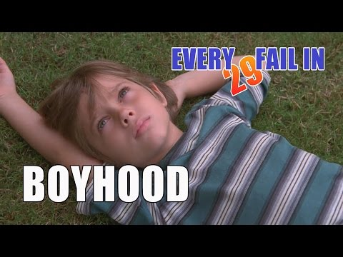 Every Fail In Boyhood | Everything Wrong With Boyhood, Mistakes and Goofs