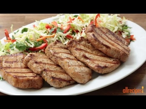 How To Make Grilled Pork Chops | Grilling Recipes | Allrecipes.com