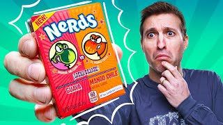7 Strange Candy Flavors RANKED! (Mango Chile Nerds??) | A.T. #154
