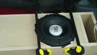 jbl gto804 subwoofer transmission line test enclosure