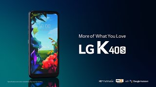 LG K40S: Product Video