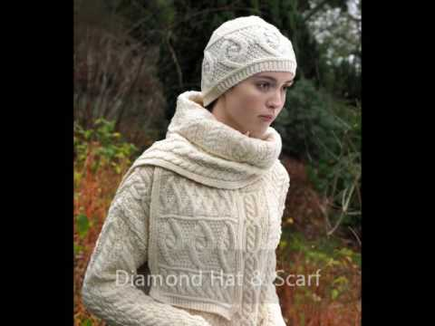 Aran Crafts Irish Knitwear - Hats & Scarfs