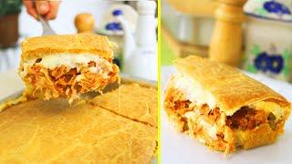 Torta de frango Com Sabor e Textura Incrível -Super Cremosa – Muito Fácil e Rápida