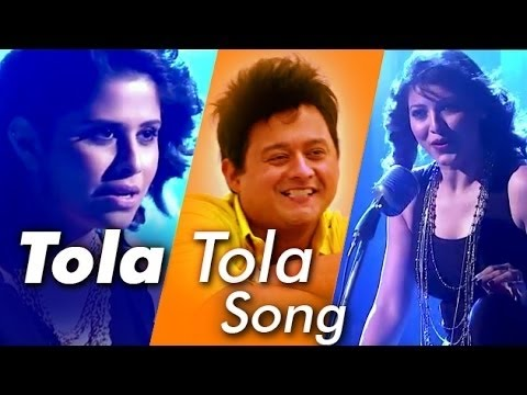 तोळा तोळा | Tola Tola | Romantic Song karaoke with lyrics | Bela Shende, Amitraj | Tu Hi Re