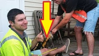 This Guy Ends Up Getting His Leg Cut Off  But Not Before He Turned It Into A Laughing Joke
