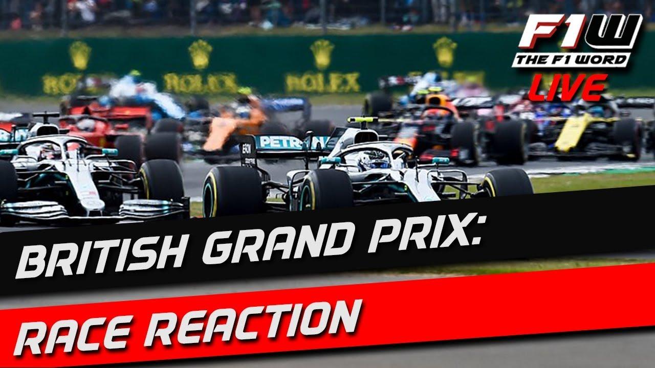 Lewis Hamilton wins the British Grand Prix: F1  live!