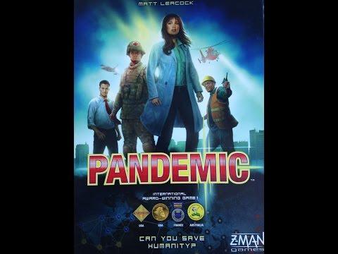 Настольная игра Пандемия (Pandemic) Часть 2. Прохождение 1