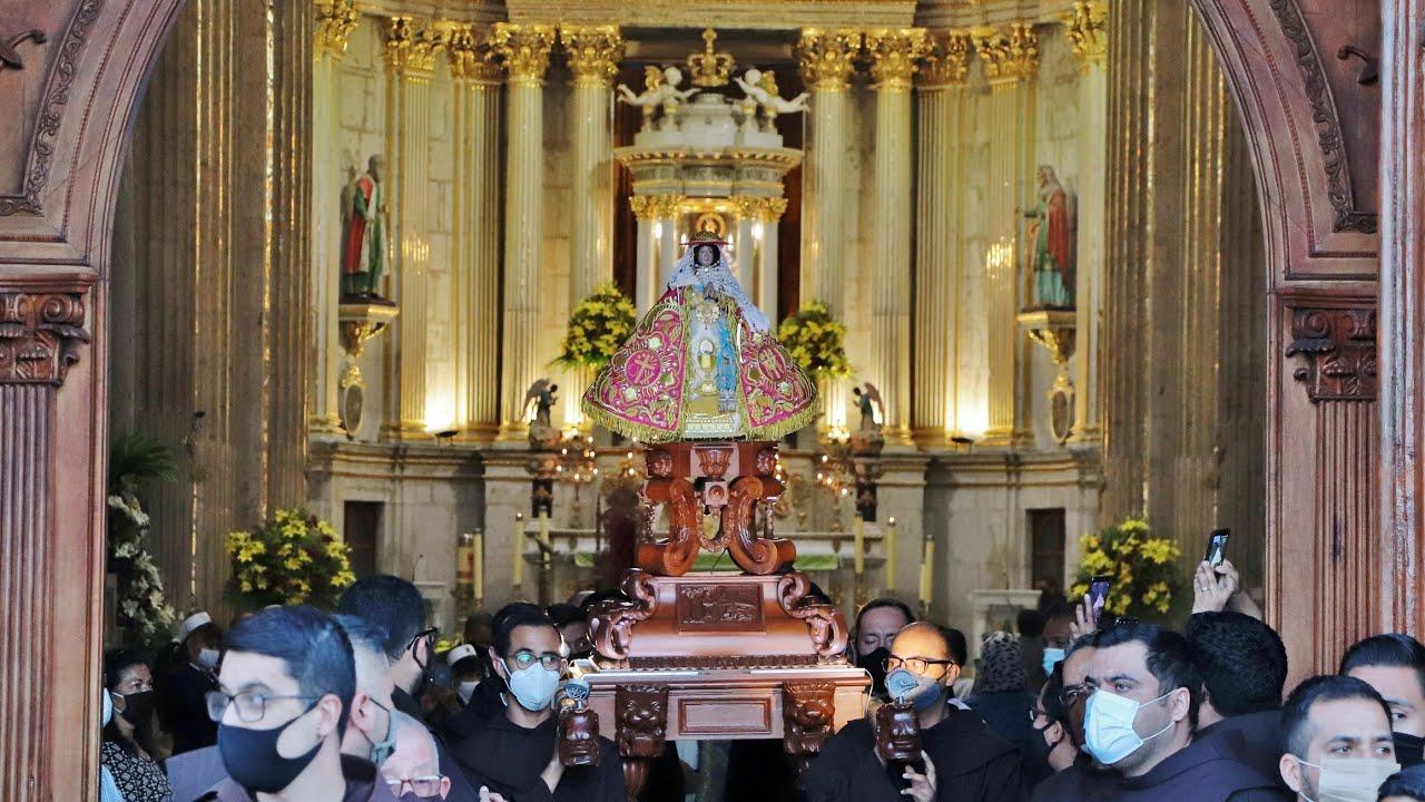 18 de noviembre 2020 Celebración mensual en Honor de Nuestra Señora de la Expectación de Zapopan