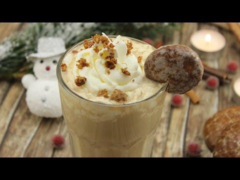 Lebkuchen Latte (Latte macchiato mit leckeren Lebkuchen-Aroma)