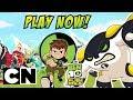 Ben 10 Alien Race | Play as Cannonbolt! | Cartoon Network