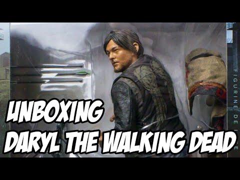 Daryl do The Walking Dead Action Figure UNBOXING, ESTATUETA FODA
