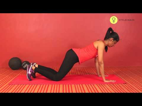 How To Do KNEE PUSH UPS | Chest & Triceps Workout