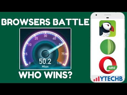 Browsers Comparison: Who Wins the Battle - Opera Mini vs Puffin vs Jelly Web Browser in Android