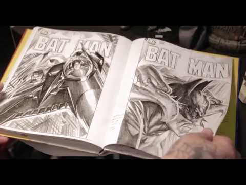 Book of the Week - Rough Sketch. The Art of Alex Ross