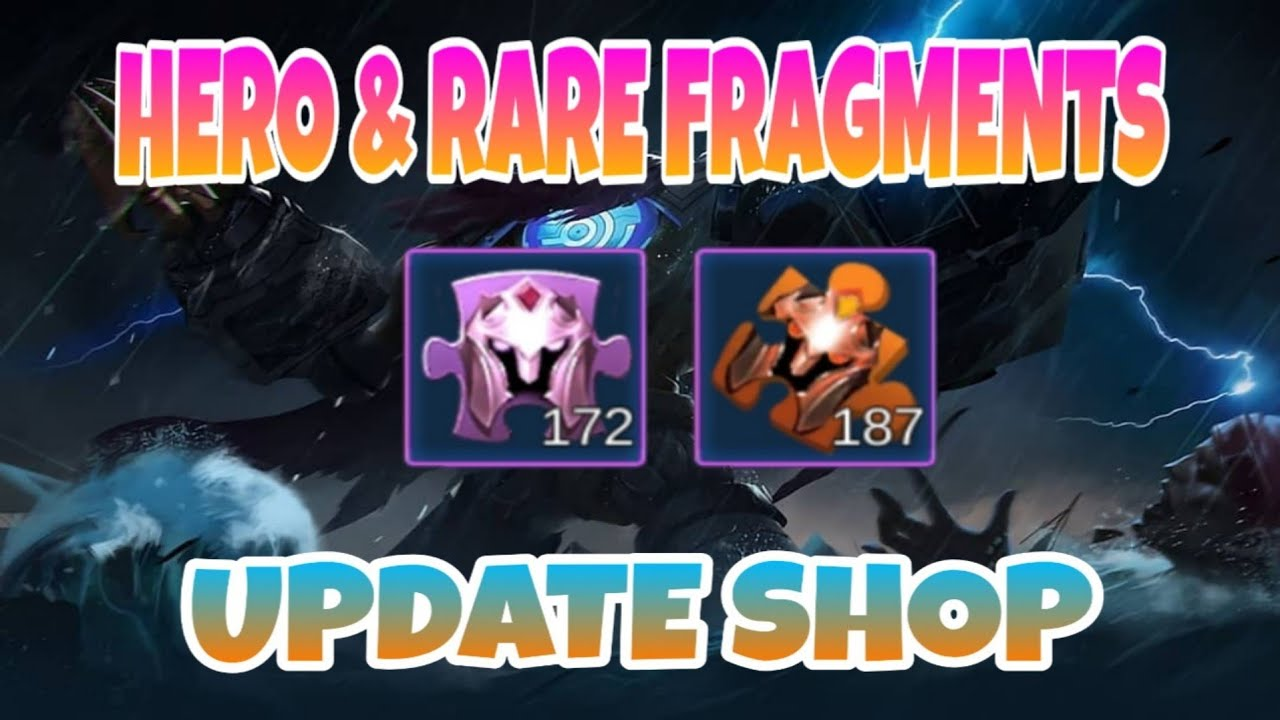 HERO & RARE FRAGMENTS SHOP UPDATE | NEW SKIN & HERO AGAIN ...