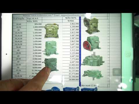Giá Hộp Giảm Tốc Trục vít Wp   NMRV RV 2018 tại Sài Gòn Tháng 8 2018, 0981645020