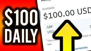 Earn $100 Per Day For FREE! (Step By Step!) - Make Money Online 2019