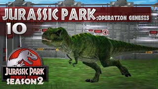 Jurassic Park: Operation Genesis || 10 || T.Rex is HERE