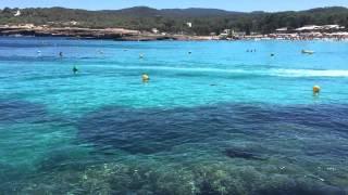 Playa Cala Bassa IBiza 2015