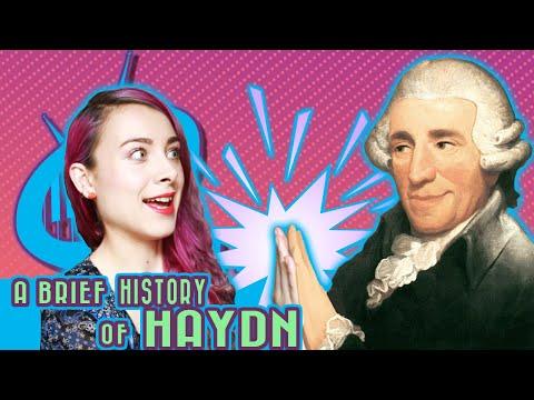 A Brief History of Franz Joseph Haydn
